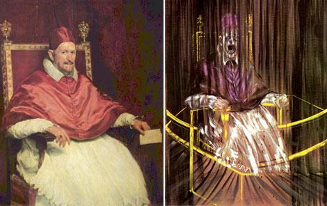 papa pope inocencio x francis bacon velazquez doria pamphilj roma rome italia italy paukf portrait retrato