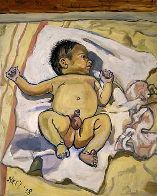 andrew-1978-by-alice-neel-on-paukf-paintings-artist-female-women-i-admire-womeniadmire