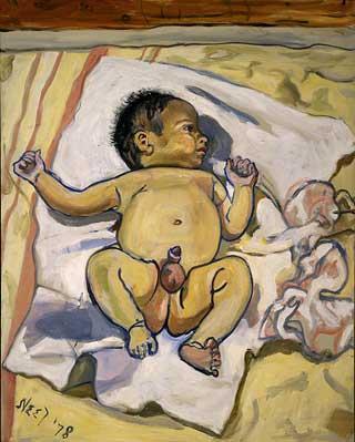 andrew-1978-by-alice-neel-on-paukf-paintings-artist-female-women-i-admire-womeniadmire