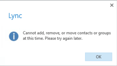 Skype for Business Online Migration and the Unified Contact Store