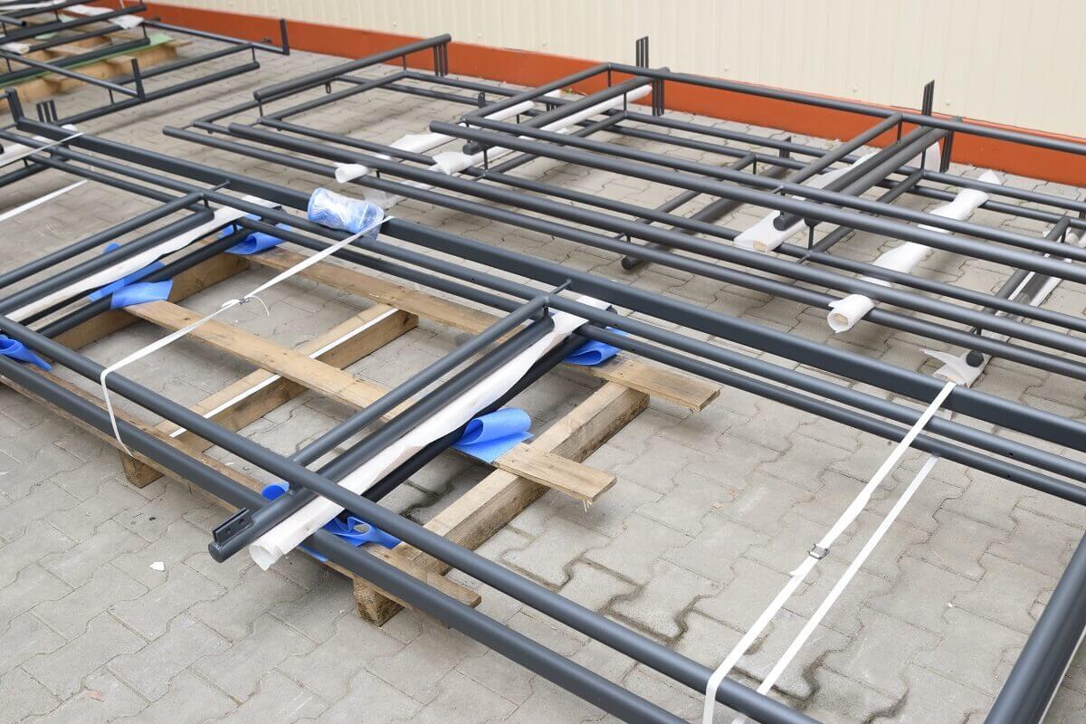 Wir verarbeiten Geländer bis 6 Meter Länge