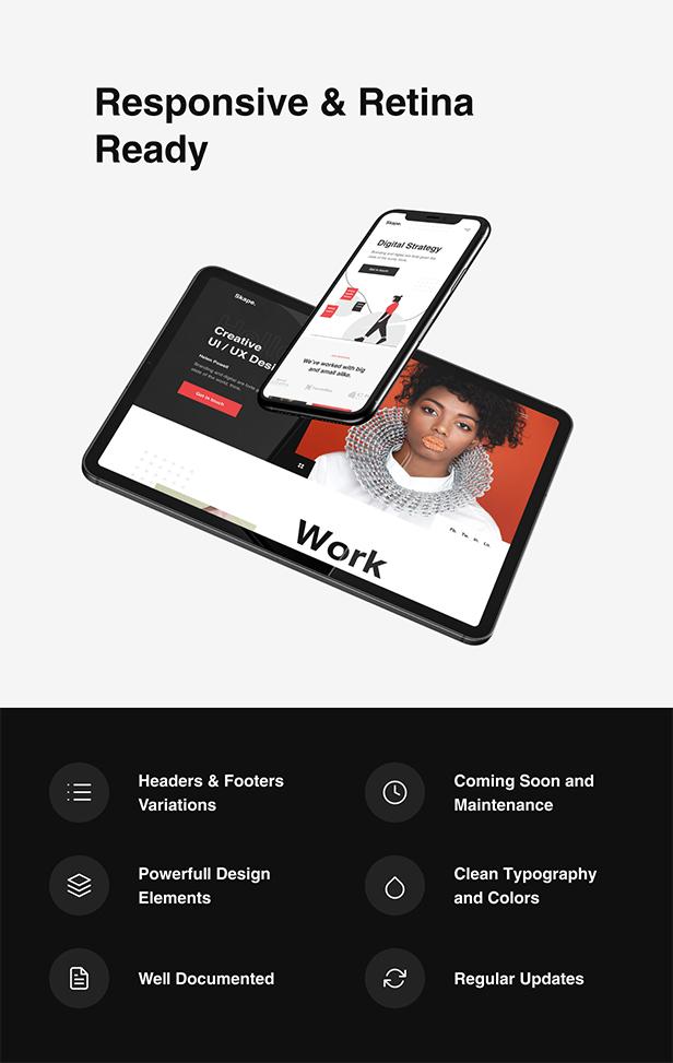 Skape - Creative & Modern Agency WordPress Theme - 10