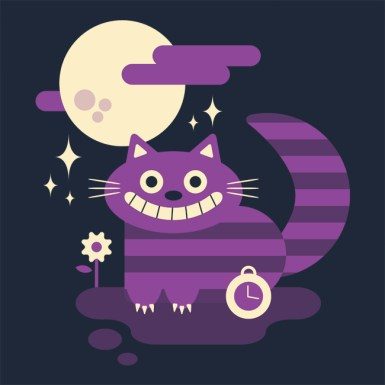 Cute mad cat