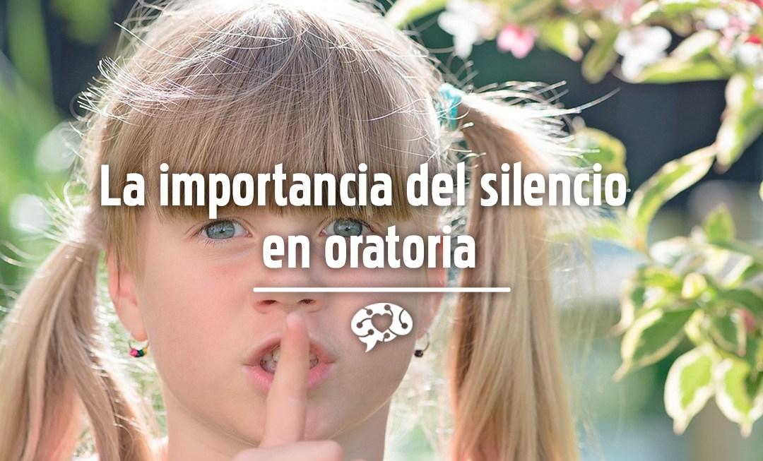 La importancia del silencio en oratoria