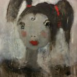 There was a Little Girl (16 x 20))