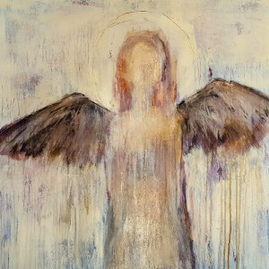 Not Afraid Anymore. She used to be afraid to let someone see her darkness,  because it frightened her.  She used to be afraid to show her wings, because she didn't understand.   She used to be afraid to let someone in, because she really didn't even know herself.