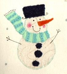 snowman_collage