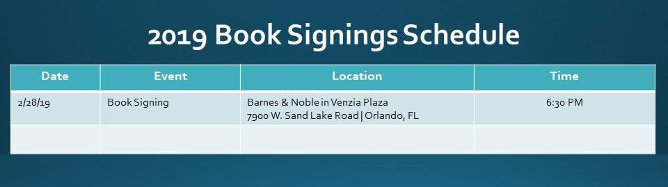 Book Signings – Paula Loblack Ministries
