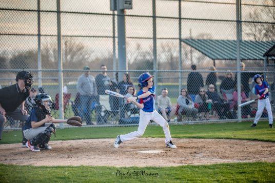 #7 at bat! Made it to 3rd on this hit!