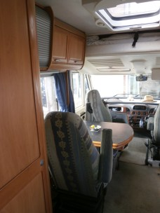 ...and a view down the length of the vehicle