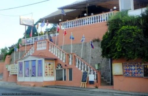 Review of the Koskinou House Restaurant, Kalithea Avenue, Rhodes.