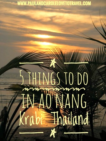 5 things to do in Ao Nang