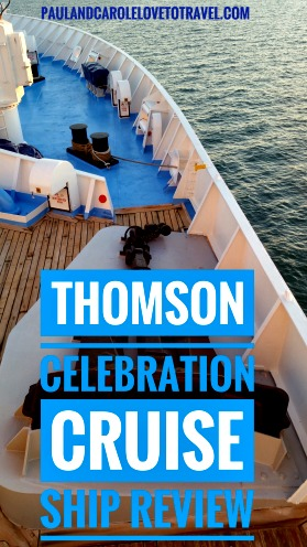 Thomson Celebration Cruise Ship