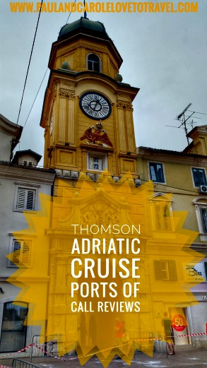 Thomson Adriatic Affair Cruise