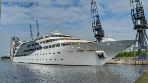 Sunborn Yacht Hotel paul and carole the year we went to mars 2017