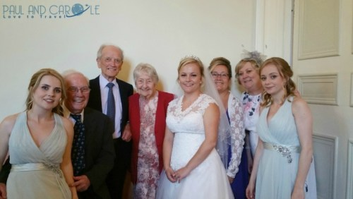Clearwell Castle Wedding paul and carole the year we went to mars 2017