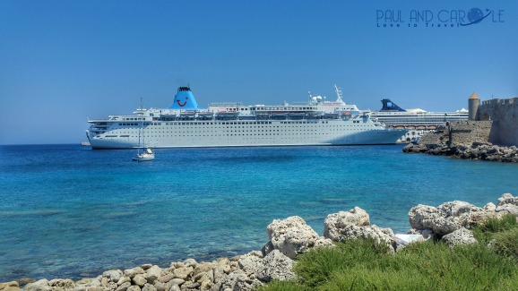 Rhodes Greece Cruise Port Information By Paul And Carole - How much do cruise ships make