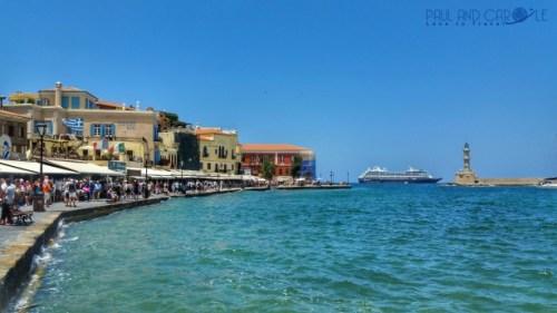 chania crete cruise port destination information guide azamara tender