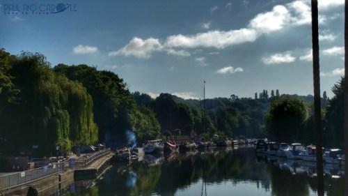 Premier Inn Sandling Maidstone River Medway canal boats