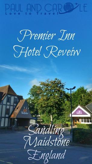 Premier Inn Sandling Maidstone Kent hotel information review