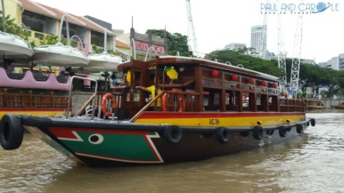 Bumboat Tour in Clarke Quay top travel tips singapore paul and carole
