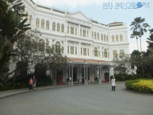Raffles hotel top travel tips singapore paul and carole