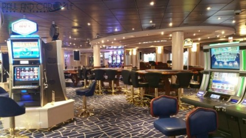 MSC Opera casino cruise ship cruising gambling