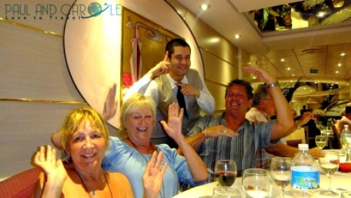 Jefferson msc opera cruise ship cruising dinner dining restaurant L'approdo