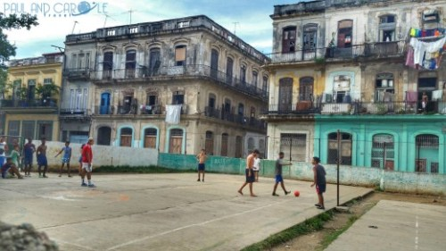 street life football Havana Guide Cuba Paul and Carole Hooters and Habaneros #cuba #havana #guide #information #review #tips #travel #travelling #Caribbean #island #destination #classic #cars #advice #stay #blog #post #bloggers