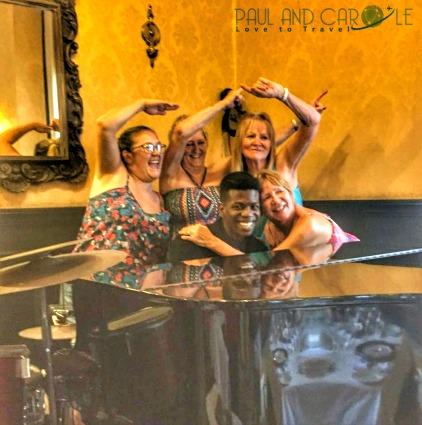 Cafe de oriente piano player fun times msc opera cuba havana