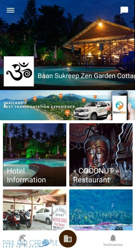baan sukreep resort zen cottages chaweng noi koh samui thailand paul and carole love to travel review