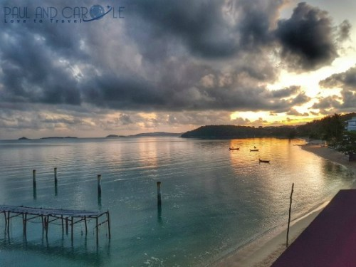 Guide to the best beautiful beaches of Koh Samui Thailand by Paul and Carole Fishermans village bophut sunrise