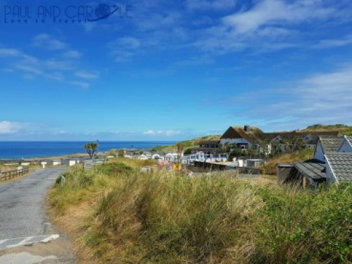 Beachside Holiday Park Hayle Cornwall Review #travel #uk #england #cornwall #hayle #camping #campsite #holiday #park#beachside #travelling #travellers #beach #review #paul #carole #pool #ocean #view