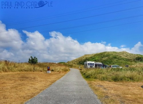Beachside Holiday Park Hayle Cornwall Review #travel #uk #england #cornwall #hayle #camping #campsite #holiday #park#beachside #travelling #travellers #beach #review #paul #carole #pitch #54
