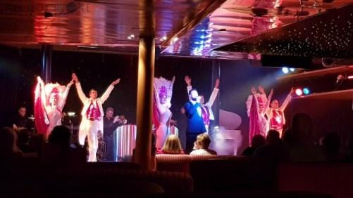 CMV Marco Polo Cruise ship show lounge Marcos #CMV #cruising #maritime #voyages #marcopolo #marcos #polo #cruise #reviews #theatre #lounge #show