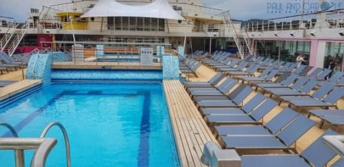 Pool deck 11 Marella Explorer 2 Cruise Ship Review    #cruise #ChooseCruise #cruising #marella #MarellaExplorer2 #TUI #explorer #review
