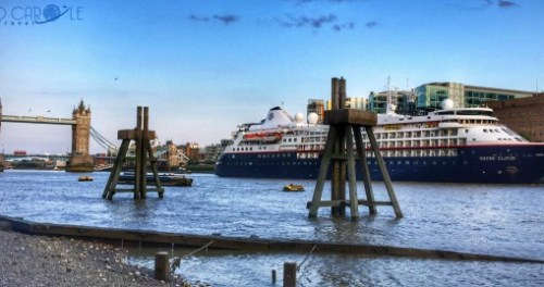 silversea cruises review silver cloud cruise ship expedition cruises docked london tower bridge #silversea #cruises #thisissilversea #expedition #cruising