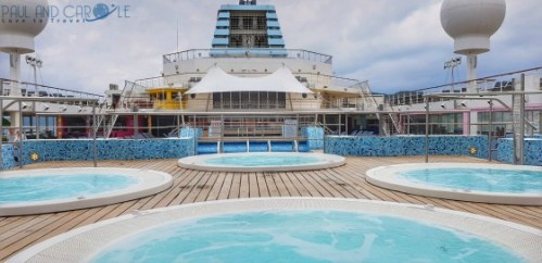 Whirlpools deck 11 Marella Explorer 2 Cruise Ship   #cruise #ChooseCruise #cruising #marella #MarellaExplorer2 #TUI #explorer #review