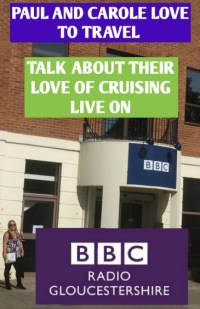In our interview with Nicky Price on BBC Radio Gloucestershire we talk about our love of travel and in particular cruising, and also what we enjoy in our home county of Gloucestershire. #bbcradioglos #gloucetsreshire #gloucester #bbcradio #paulandcarole #travelbloggers #cruisebloggers