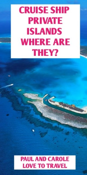 More cruise companies are offering unique experiences including their own Cruise Private Islands. Read our post here to find out how you can visit these beautiful islands.  #cruise #private #islands #cruising