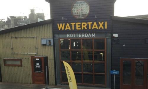 Rotterdam water taxi. #rotterdam #watertaxi #transport #rivertransport #sightseeing #europeslargestport