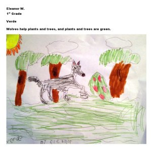 Artwork by Eleanor W., 1st Grade