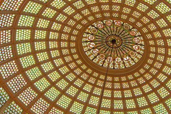 Chicago Cultural Center Tiffany's Dome