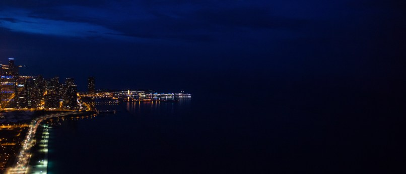 Chicago Navy Pier at Night