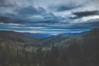 smoky mountains landscape photography