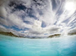 iceland blue lagoon go pro photography