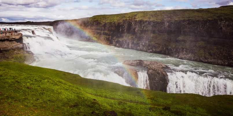 iceland gullfoss landscape photography