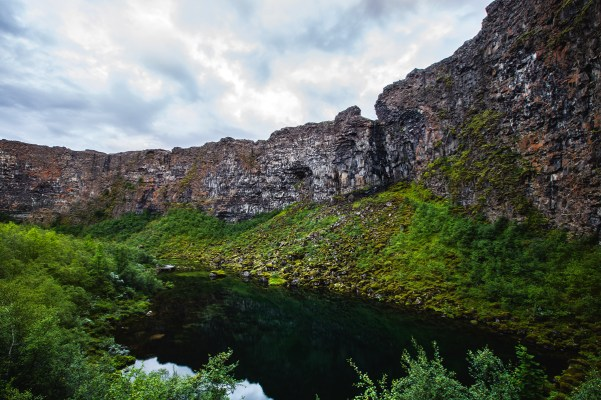 North Iceland Ásbyrgi canyon Landscape Photography