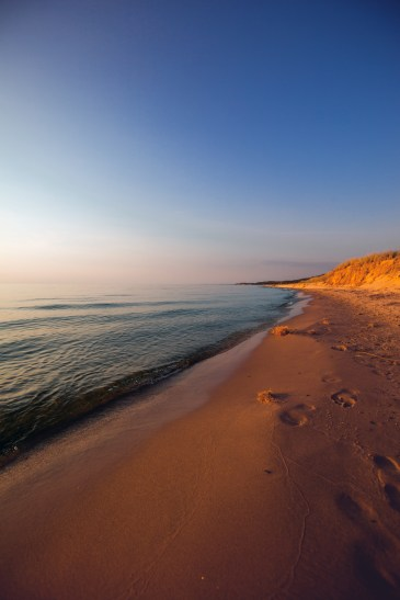 Lake Michigan Recreation Shore Photography