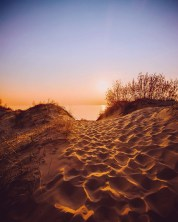 Michigan Recreation Dunes Sunset Photography